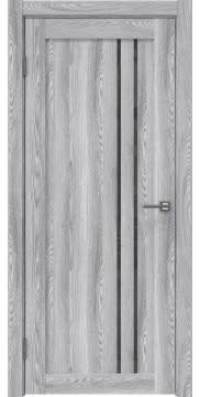 Межкомнатная дверь RM023 (экошпон «ясень грей» / лакобель серый) — 0637