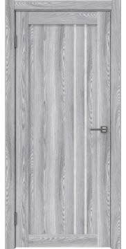 Межкомнатная дверь RM023 (экошпон «ясень грей» / лакобель белый) — 0634