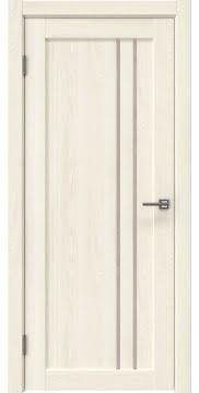 Межкомнатная дверь RM023 (экошпон «ясень крем» / лакобель бежевый) — 0642