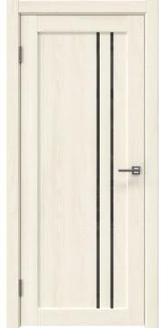 Межкомнатная дверь RM023 (экошпон «ясень крем» / лакобель серый) — 0643