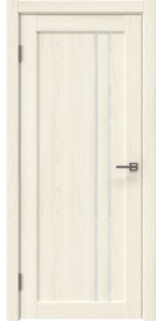 Межкомнатная дверь RM023 (экошпон «ясень крем» / лакобель белый) — 0639