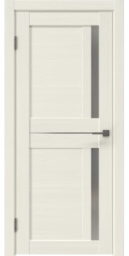 Межкомнатная дверь RM024 (экошпон «эш вайт мелинга» / матовое стекло)
