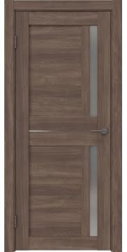 Межкомнатная дверь RM024 (экошпон «античный орех» / матовое стекло) — 0701