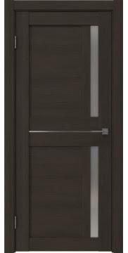 Межкомнатная дверь RM024 (экошпон «венге мелинга» / матовое стекло) — 0697