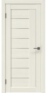 Межкомнатная дверь RM025 (экошпон «эш вайт мелинга» / матовое стекло) — 0768