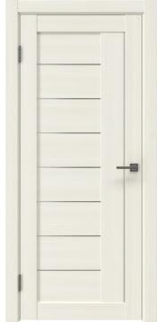 Межкомнатная дверь RM025 (экошпон «сандал белый» / матовое стекло) — 0992