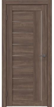 Межкомнатная дверь RM025 (экошпон «античный орех» / матовое стекло) — 0767