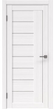 Межкомнатная дверь, RM025 (экошпон белый FL, лакобель белый)