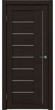 Межкомнатная дверь, RM025 (экошпон венге FL, лакобель белый)