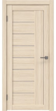 Межкомнатная дверь RM025 (экошпон «беленый дуб FL», лакобель белый) — 9147