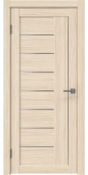 Межкомнатная дверь RM025 (экошпон «беленый дуб FL», матовое стекло) — 9149