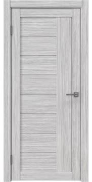 Межкомнатная дверь, RM025 (экошпон серый дуб FL, лакобель белый)