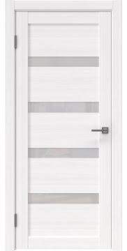 Межкомнатная дверь RM027 (экошпон «белый FL», лакобель белый) — 9026