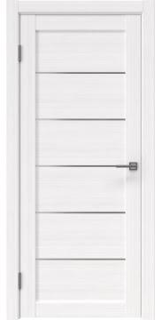 Межкомнатная дверь RM028 (экошпон «белый FL», матовое стекло) — 9043