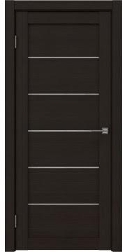 Межкомнатная дверь, RM028 (экошпон венге FL, лакобель белый)