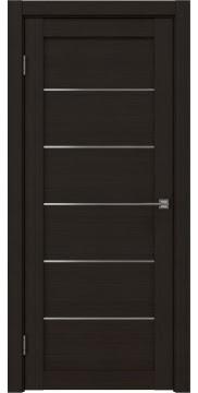 Межкомнатная дверь RM028 (экошпон «венге FL», матовое стекло) — 9046
