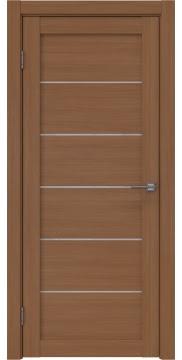 Межкомнатная дверь RM028 (экошпон «орех FL», лакобель белый) — 9053