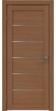 Дверь RM028 (экошпон орех FL, матовое стекло)