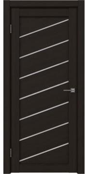 Межкомнатная дверь, RM029 (экошпон венге FL, лакобель белый)