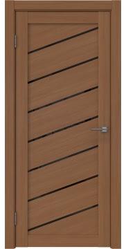 Межкомнатная дверь, RM029 (экошпон орех FL, лакобель черный)