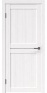 Межкомнатная дверь, RM030 (экошпон белый FL, лакобель белый)