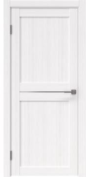 Межкомнатная дверь RM030 (экошпон «белый FL», матовое стекло)