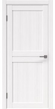 Межкомнатная дверь, RM030 (экошпон белый FL, глухая)