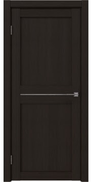 Межкомнатная дверь, RM030 (экошпон венге FL, лакобель белый)