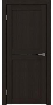 Межкомнатная дверь, RM030 (экошпон венге FL, лакобель черный)
