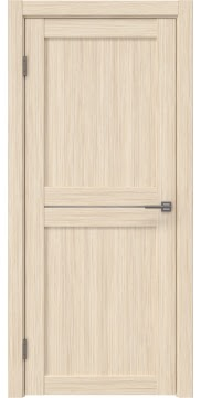 Межкомнатная дверь, RM030 (экошпон беленый дуб FL, лакобель белый)