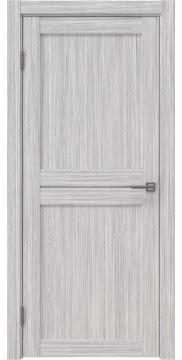 Межкомнатная дверь, RM030 (экошпон серый дуб FL, лакобель белый)