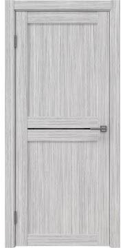 Дверь RM030 (экошпон серый дуб FL, лакобель черный)