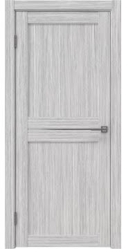 Межкомнатная дверь, RM030 (экошпон серый дуб FL, матовое стекло)