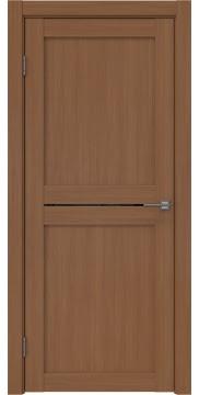 Межкомнатная дверь, RM030 (экошпон орех FL, лакобель черный)