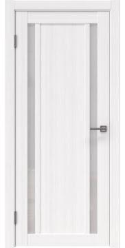 Межкомнатная дверь, RM031 (экошпон белый FL, лакобель белый)