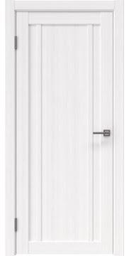 Межкомнатная дверь, RM031 (экошпон белый FL, глухая)