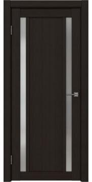 Межкомнатная дверь, RM031 (экошпон венге FL, матовое стекло)