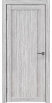 Межкомнатная дверь RM031 (экошпон «серый дуб FL», лакобель белый) — 9134