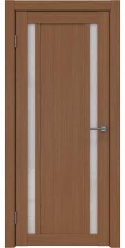 Межкомнатная дверь, RM031 (экошпон орех FL, лакобель белый)