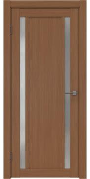 Межкомнатная дверь RM031 (экошпон «орех FL», матовое стекло) — 9140