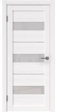 Межкомнатная дверь, RM034 (экошпон белый FL, лакобель белый)