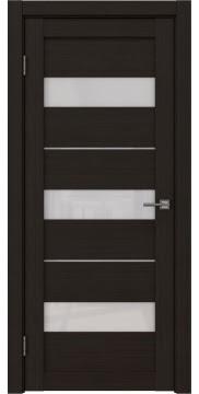 Межкомнатная дверь, RM034 (экошпон венге FL, лакобель белый)