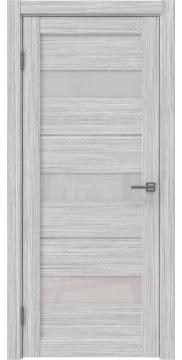 Межкомнатная дверь RM034 (экошпон «серый дуб FL», лакобель белый) — 9165
