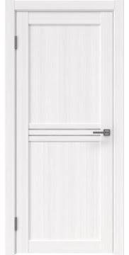 Межкомнатная дверь, RM035 (экошпон белый FL, лакобель белый)