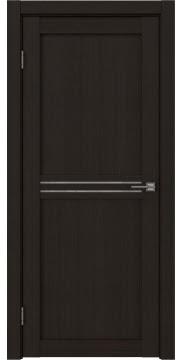 Межкомнатная дверь, RM035 (экошпон венге FL, лакобель белый)