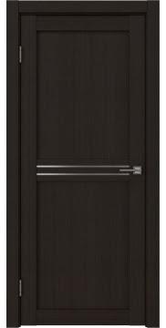 Межкомнатная дверь, RM035 (экошпон венге FL, матовое стекло)