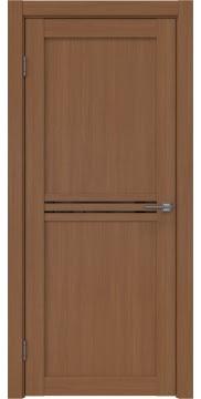 Межкомнатная дверь, RM035 (экошпон орех FL, лакобель черный)