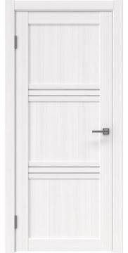Межкомнатная дверь, RM036 (экошпон белый FL, лакобель белый)