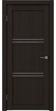 Межкомнатная дверь, RM036 (экошпон венге FL, лакобель белый)