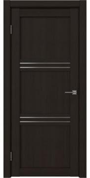 Межкомнатная дверь, RM036 (экошпон венге FL, матовое стекло)